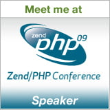 Speaker: Zend/PHP Conference 2009
