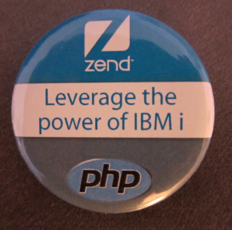 Leverage the Power of IBM i Zend PHP button